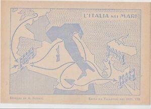ITALY 1929 FUTURISM FASCISM PROPAGANDA ITALY IN THE SEAS.THE GREAT ITALY - Italia - ITALY 1929 FUTURISM FASCISM PROPAGANDA ITALY IN THE SEAS.THE GREAT ITALY - Italia
