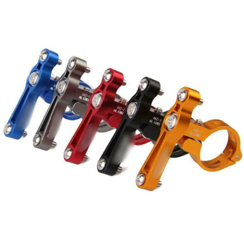 Bike Bicycle Cycling Water Bottle Cage Holder Clamp Clip Handlebar Bracket Mount