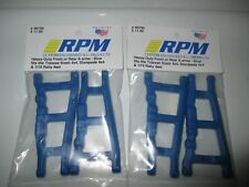 RPM Traxxas Slash 4wd 4x4 Rally Stampede Front & Rear Suspension Arms Blue 2 Pa