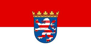 Hessen State Flag Hessian Flag 20x30cm Hessen flag host country flag