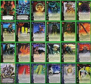 ARCADIA: THE WYLD HUNT - WHITE WOLF 1996 CCG CARDS  - LOTS to CHOOSE FROM