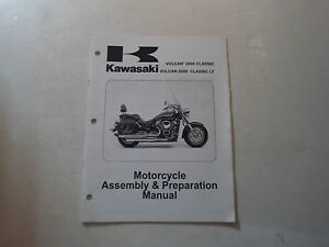 2006 Kawasaki Vulcan 2000 Classic LT Motorcycle Assembly & Preparation Manual 06