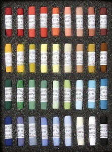 Unison Artists Pastel Box Set 36 Portrait Colours
