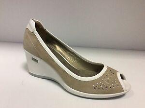 Decolt scarpa donna col Safari camoscio zeppa NERO GIARDINI P206990D