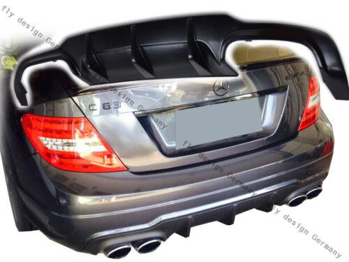 Facelift MERCEDES w204 204 AMG tuning diffuseur Heckansatz Mopf arrière tablier