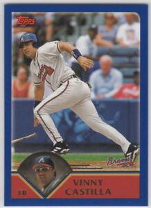 2003-Topps-Baseball-Atlanta-Braves-Team-Set