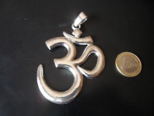 OM abalorios collar collares yoga simbolo pulsera SIM-14 1 Colgante Zamak OHM