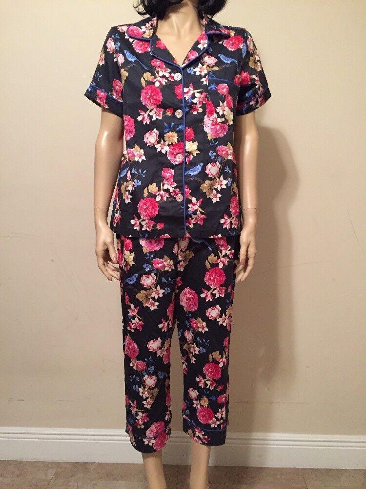 Bed Head Pajama Set  100% Cotton Size S NWT