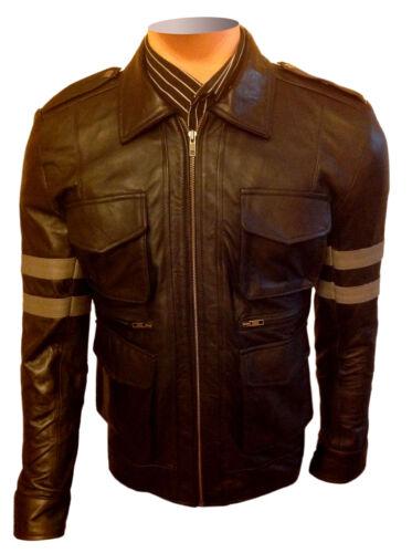 pelle Biker Evil di Classic Black Halloween Costumi di Giacca Resident BqAZA