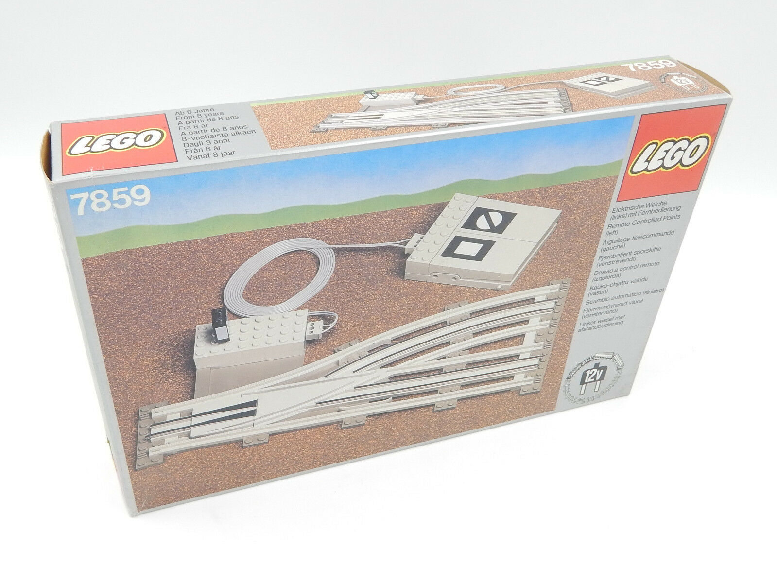 LEGO 12 v chemin de de de fer/7859-électrique douce (gauche)  TélécomFemmede-Nouveau/Neuf dans sa boîte | Pas Chers  f9f9de