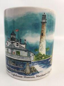 OTAGIRI-Coffee-Mug-Tea-Cup-Lighthouses-Kurt-R-Kress-Stanley-Papel-Yaquina-Bay