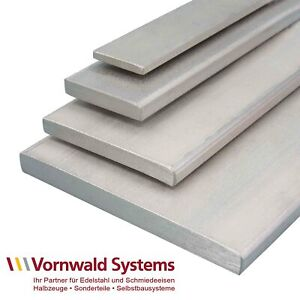 100 cm Alu Flachstange Aluminium 50 x 10 mm AlMgSi0,5 Profil Aluprofil Stange Flachmaterial