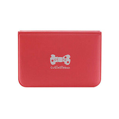 Red Women Bowknot Business ID Credit Cute Card Pocket Bag Wallet Holder Case