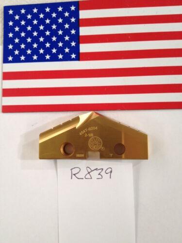 """1 NEW 2-1//8/"""" ALLIED SPADE DRILL INSERT BIT AMEC R839 T 454T-0204 USA MADE"""