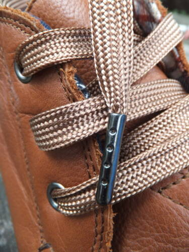 10mm Flat Extra Long Shoelaces METAL TIPPED 240cm to 500cm Hiking Boot Walking