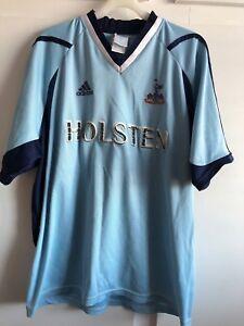 sports shoes 6be5f 0dc85 Details about *M* 2001/02 Spurs TOTTENHAM Away HOLSTEN Football Shirt