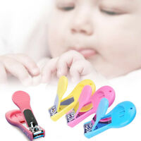 1X Safety Baby Nail Clippers Cutter Care Toddler Infant Scissors Manicure Set