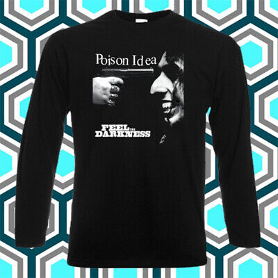 Poison Idea /'Feel The Darkness/' NEW /& OFFICIAL! T-Shirt Black