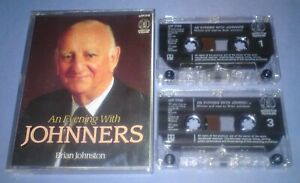 BRIAN-JOHNSTON-AN-EVENING-WITH-JOHNNERS-Double-cassette-audio-book-A82