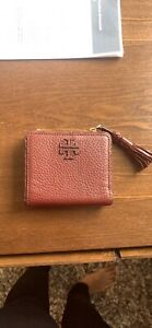 Tory-Burch-Taylor-Mini-Tassel-zip-Wallet-Retail-For-Over-100