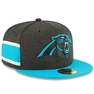 Carolina Panthers New Era 2018 NFL Sideline Home 59FIFTY Fitted Hat ... 2ae9170ef166