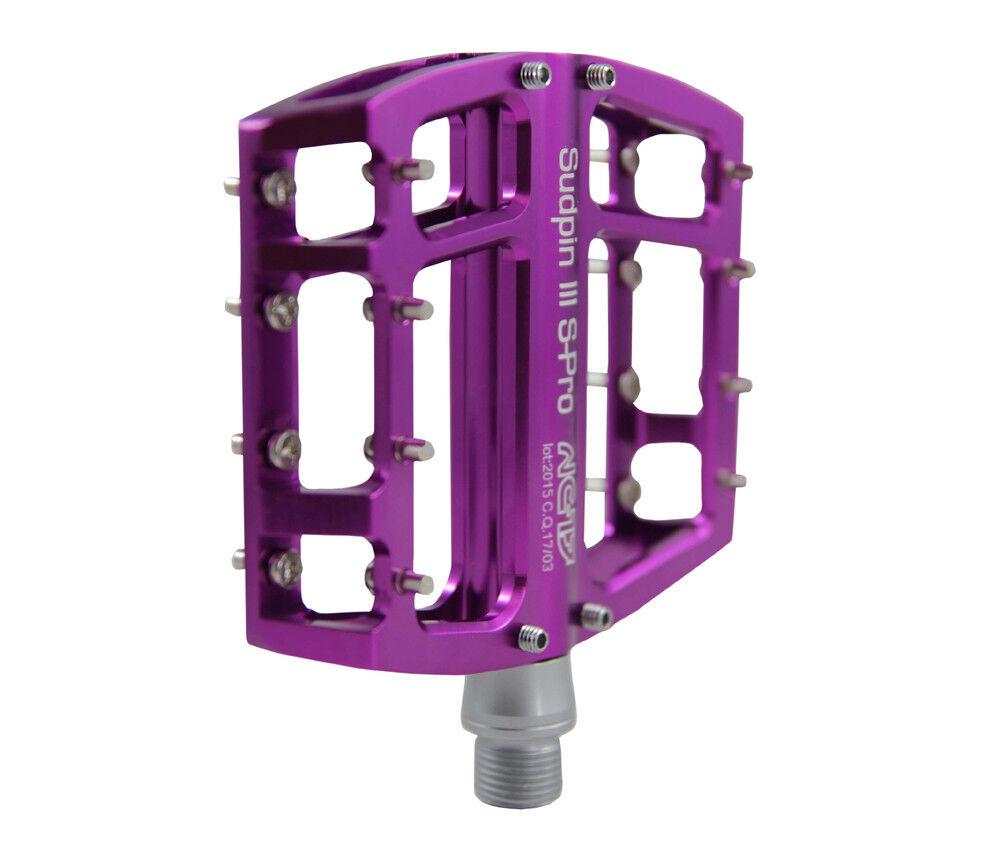 NC-17 Sudpin III S-Pro CNC CNC CNC Fahrrad Plattform Pedal lila 542eb9