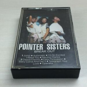 Pointer-Sisters-Break-Out-Album-On-Cassette-Tape-TESTED