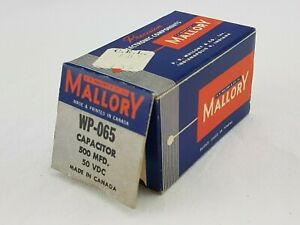 Mallory-Capacitor-WP-065-500-MFD-50-VDC
