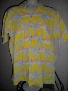 a6a29888 Image is loading Vintage-Tropicana-Mens-Medium-Hawaiian-Shirt-Palm-Tree-