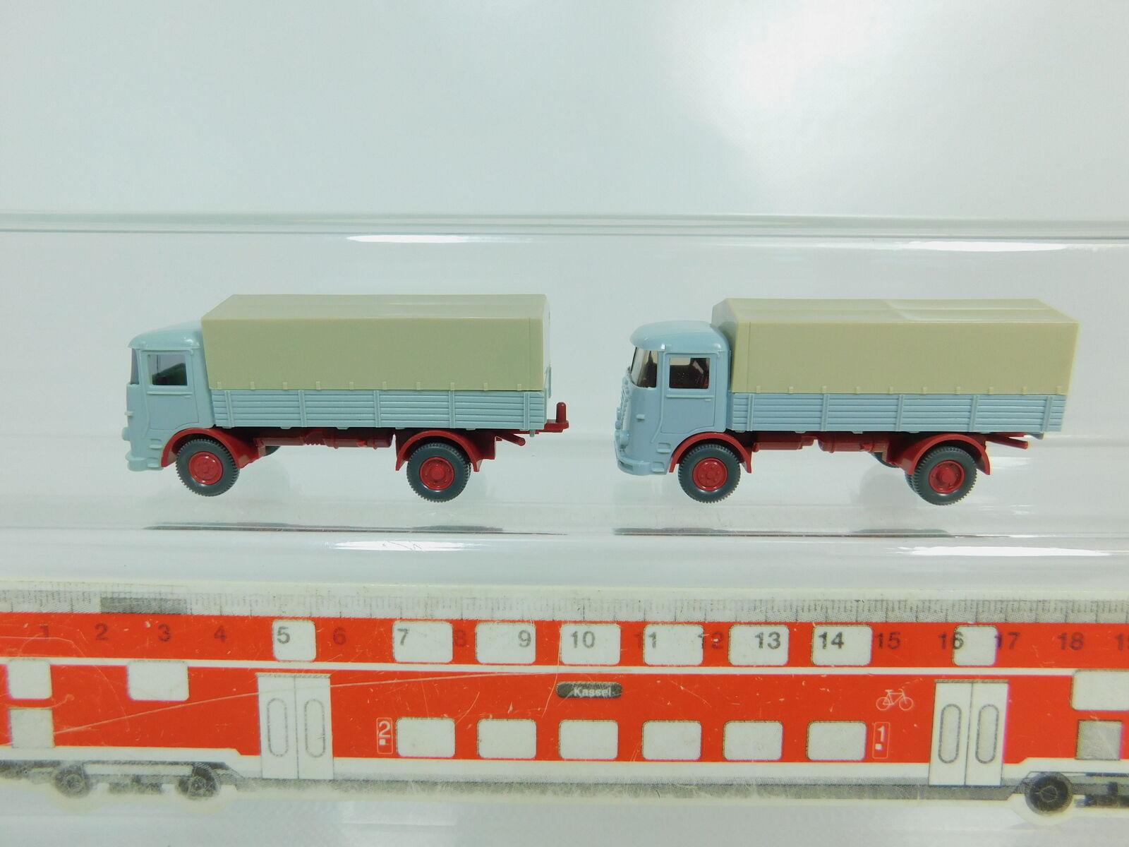 BO467-0,5x Wiking H0 1 87 LKW Lastwagen Lastwagen Lastwagen Büssing LU 7 LU7, sehr gut 550de9