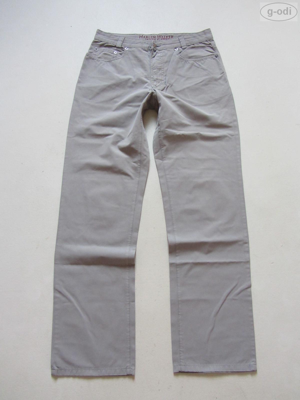JOKER Harlem Walker Jeans Hose W 33  L 34, grey, Basic Denim Klassiker, robust