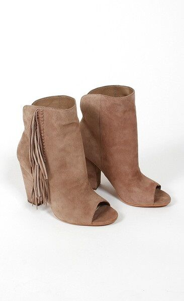 Man's/Woman's DOLCE VITA MAZARINE FRINGE OPEN TOE Reasonable price special promotion Clearance sale