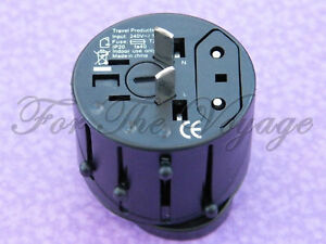 Travel Adapter Multi Plug Socket Converter Universal Ac