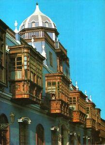 CARTOLINA-LIMA-PERU-CASA-DE-OSAMBELA-FINES-S-18-1982