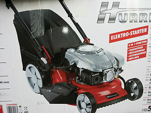 hurricane benzin rasenm her hb 51 r hw e elektrostart 51cm schnittbreite ebay. Black Bedroom Furniture Sets. Home Design Ideas