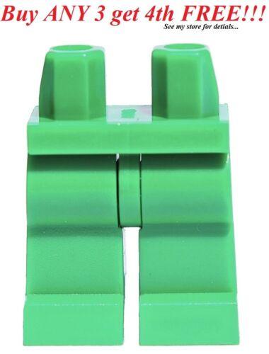 ☀️NEW Lego Legs Pants MINIFIGURE MINIFIG BOY Pirate PLAIN GREEN Batman Castle