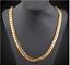 18k-Gold-Kette-vergoldet-Halskette-Panzerkette-Schmuck-Herren-Maenner-Edelstahl Indexbild 3