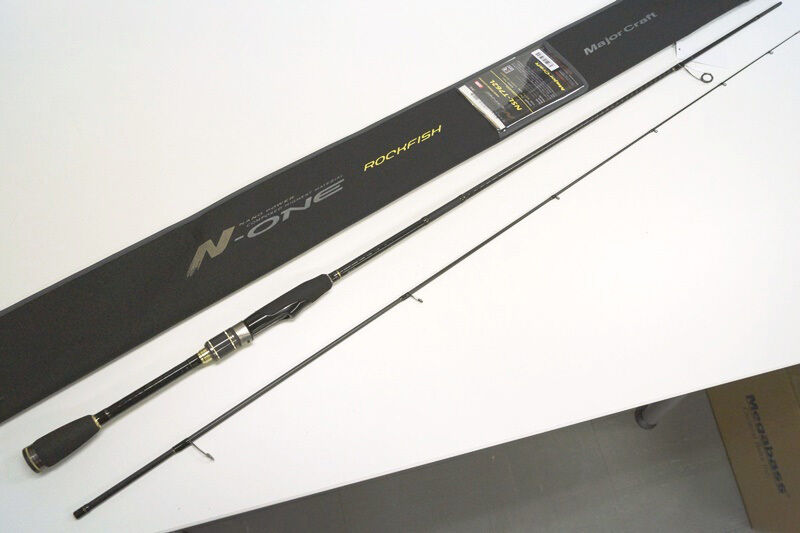 Major Craft  N-ONE 2 piece rod  NSL-T762L TUBULAR  top brand