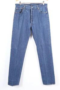 """Vintage LEVI'S 501 XX Button Fly Denim Jeans USA Mens Size 38x40 Actual """"35x37"""""""