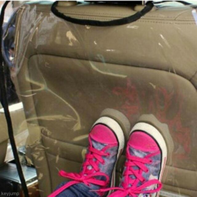 Anti-dirty Car Auto Truck Seat Back Backrest Cover Transparent Removable Sleeve