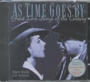 ettore cd  ETTORE STRATTA - AS TIME GOES BY: GREAT LOVE SONGS OF THE CENTURY ...