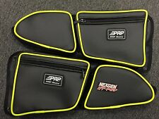 PRP Seats Door Bags 14+ Polaris RZR 1000 XP4 TURBO and 2015 +RZR 900-LIME Pair
