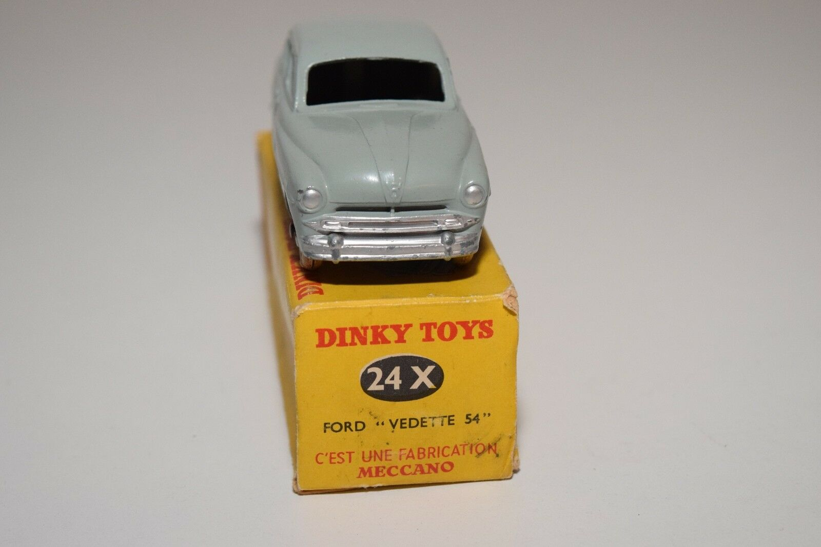 .- DINKY TOYS TOYS DINKY 24X 24 X FORD VEDETTE 54 Gris EXCELLENT BOXED 6c774d