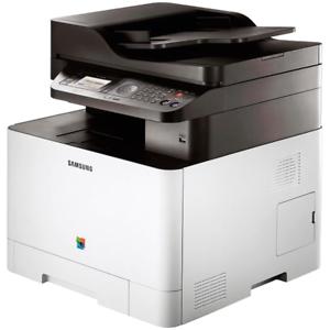 Samsung-CLX-4195FN-Farblaser-Multifunktionsgeraet-Duplex-USB-DIN-A4-NEU-ADF