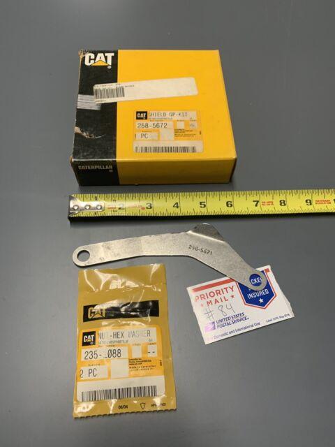 258-5672 CAT Caterpillar C15 Engine Oil Line Shield Kit 2585672 258-5671