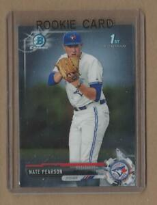NATE-PEARSON-2017-Bowman-Chrome-Draft-Rookie-Card-Blue-Jays-1-Pitching-Prospect