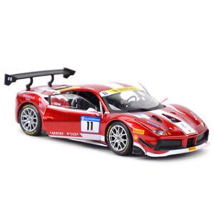 Bburago-1-24-Ferrari-488-Challenge-11-2017-Formula-Diecast-Model-Racing-Car-NIB