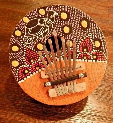 Multicolor Handmade 7 Key Tuneable Finger Piano Kalimba Thumb Musical Instrument