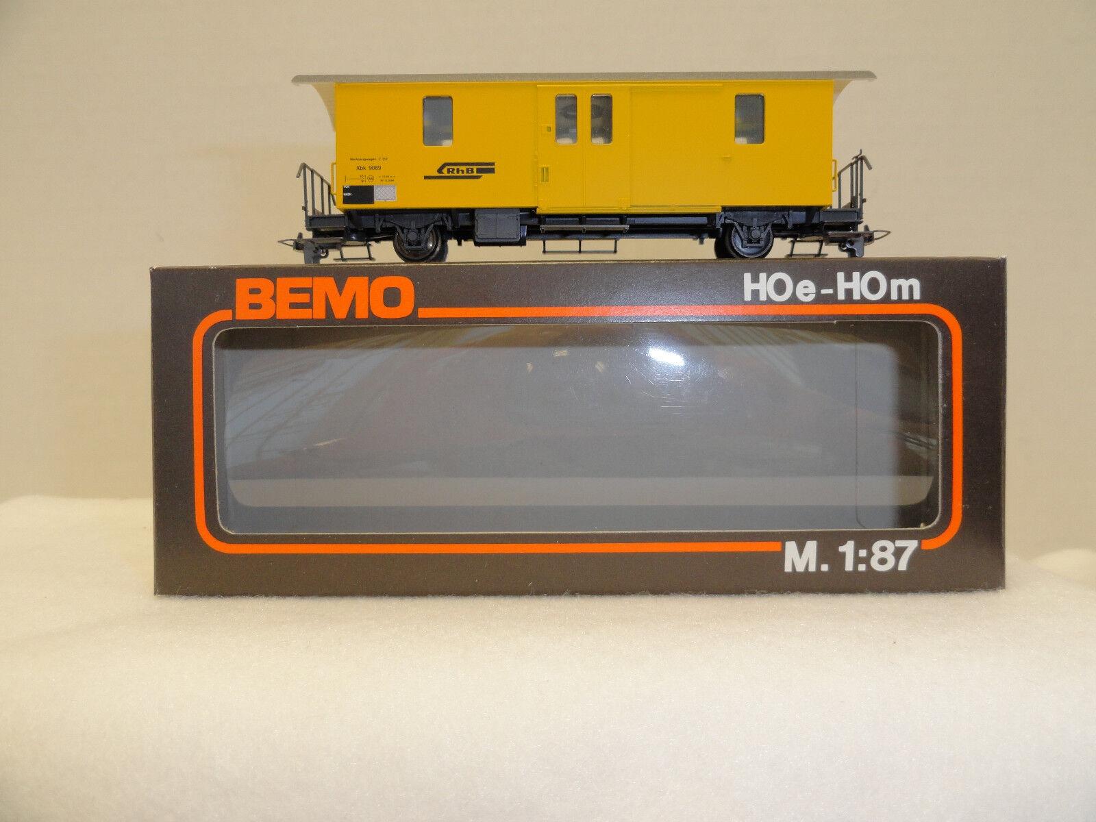 Bemo HOm 2270 RhB baggage car. NIB.