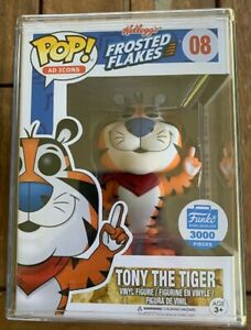 RARE-Tony-The-Tiger-LE3000-Funko-Pop-Vinyl-New-in-Mint-Box-Protector